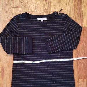 LOFT Dresses - LOFT quarter length sleeve shift dress